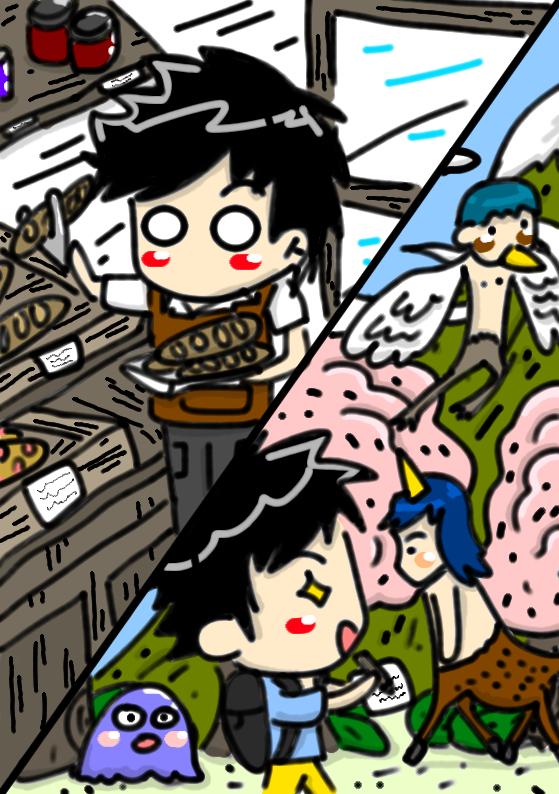 《鬼島服務業》第三章 鬼島手札(12)我在鬼島的日常