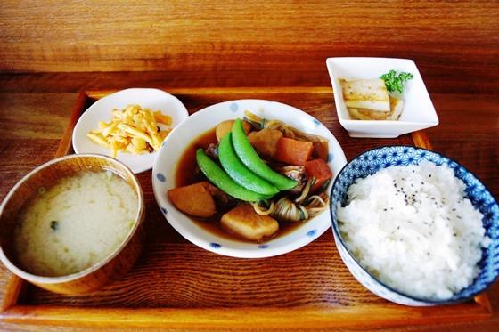 [台南-永康區]日日咖啡-馬鈴薯燉肉定食