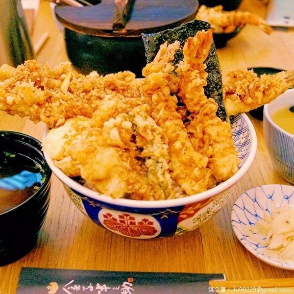 [台北-中正區]金子半之助.江戶前天丼.好穴子魚