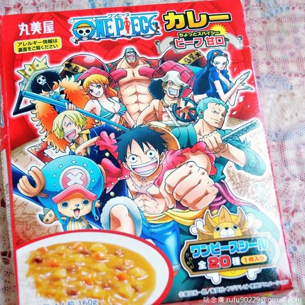 [日本]丸美屋《海賊王(航海王,ONE PIECE)》咖哩調理包