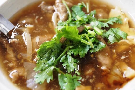 [雲林-虎尾]阿世香菇肉羹-肉羹湯
