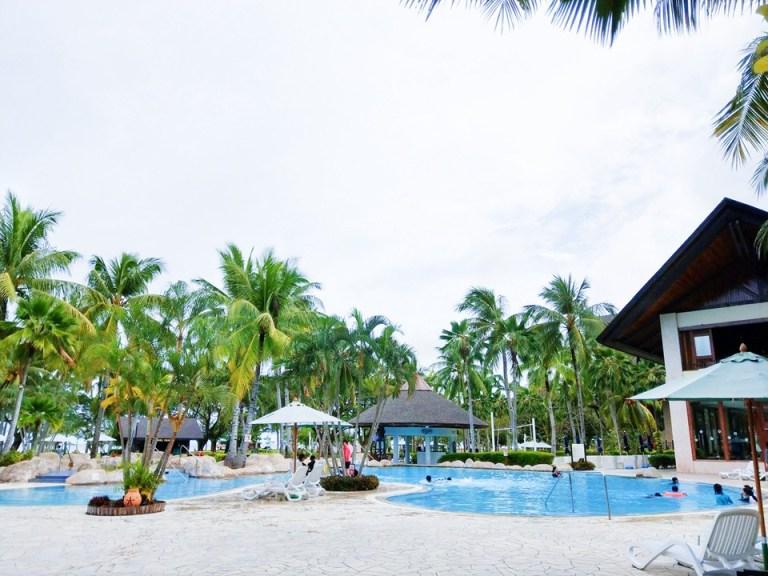 沙巴(Sabah)-佳藍文萊渡假村(Nexus Resort Karambunai):擁有百萬年的雨林及約六公里長的白沙海灘之休憩時光-蜜月遊記